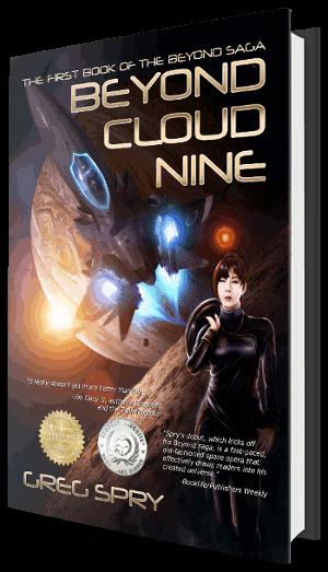 Buy science fiction novel Beyond Cloud Nine